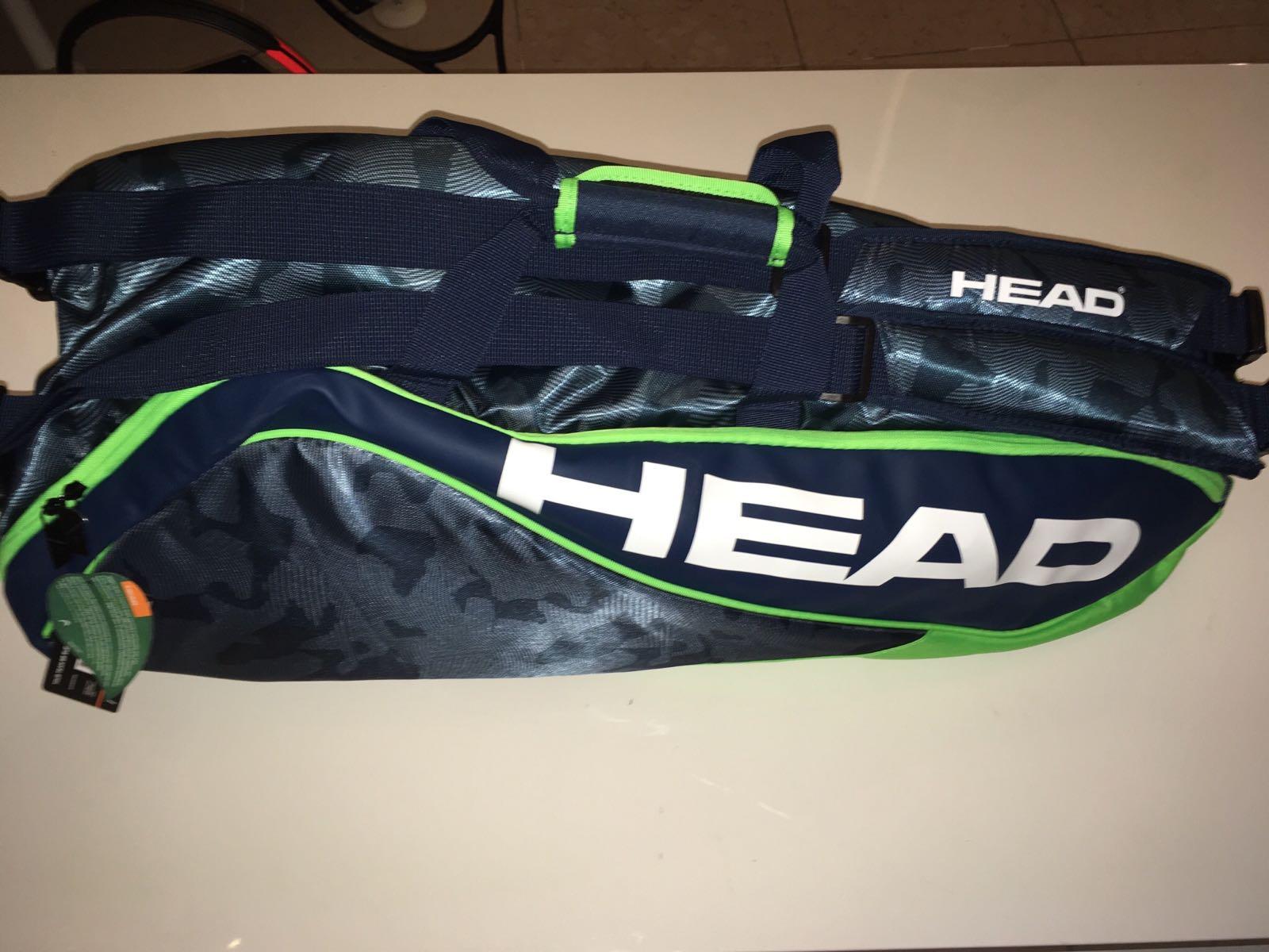Head Borsa Tour Team 9R Combi Navy-Verde