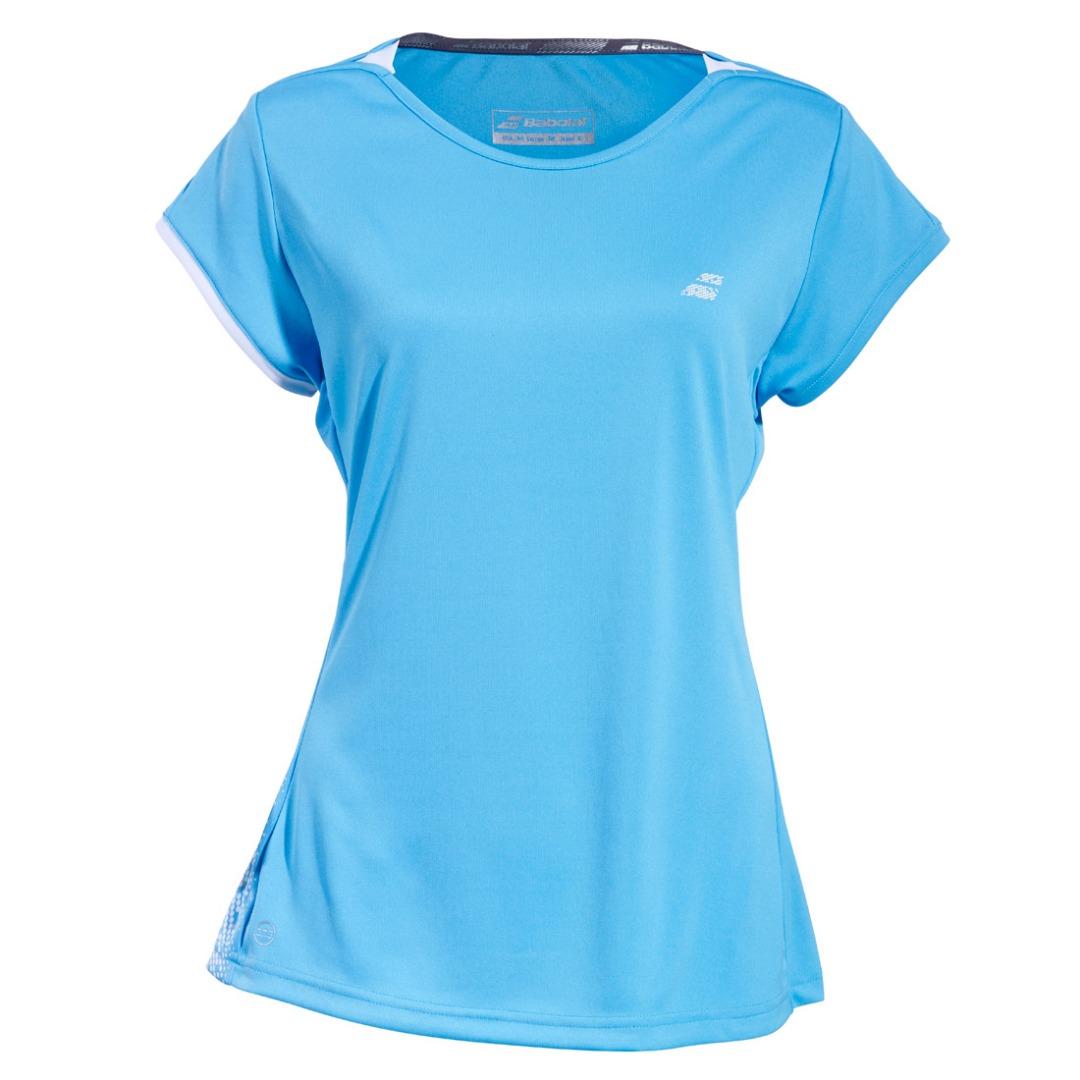 Babolat Perf Cap Sleeve Top Azzurro Bambina 1