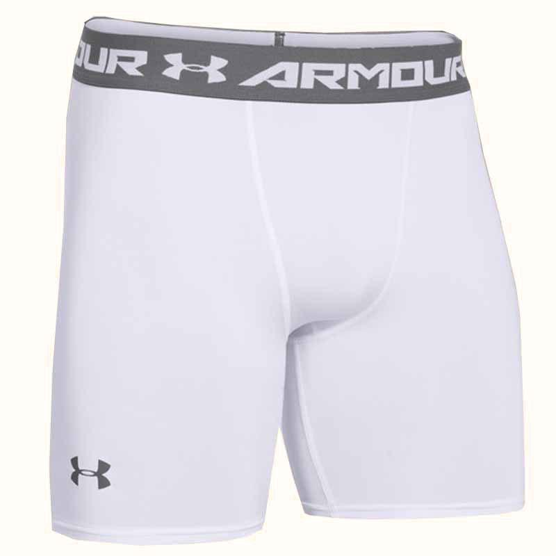 Under Armour Short Heatgear Comp Bianco Uomo