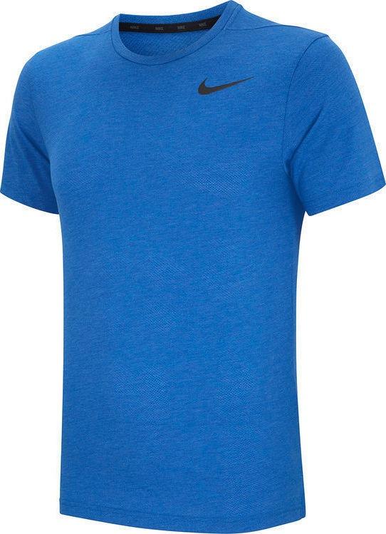 Nike Breathe Men's Short-Sleeve Training Blu Uomo 1