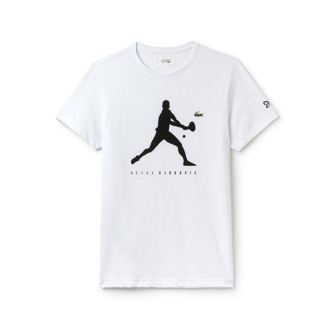 Lacoste T-Shirt Djokovic Bianco Uomo