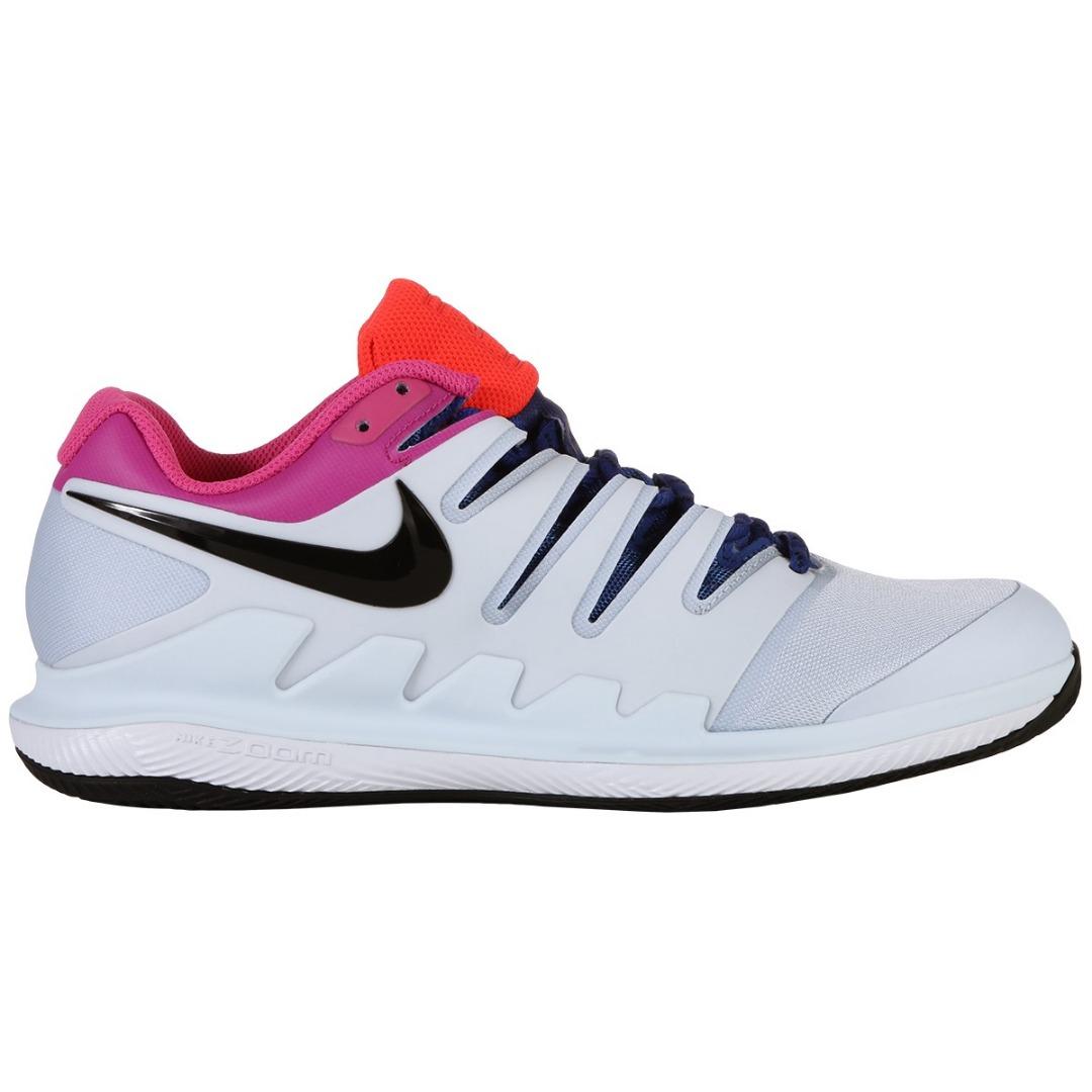 Nike Air Zoom Vapor X Clay Azzurro-Rosa-Blu Uomo