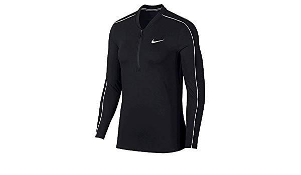 Nike Court Dri-Fit Longsleeve Nero Donna 1