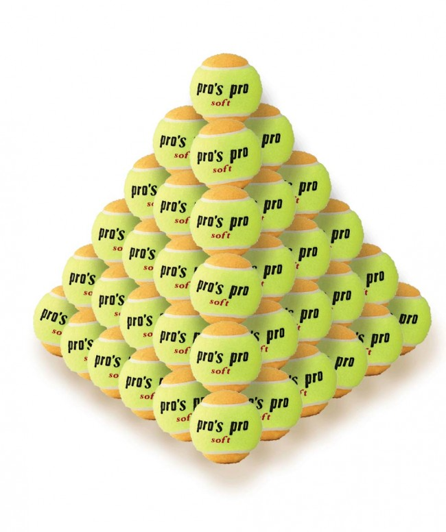 Pro's Pro Palline Gialle-Arancioni (60x)