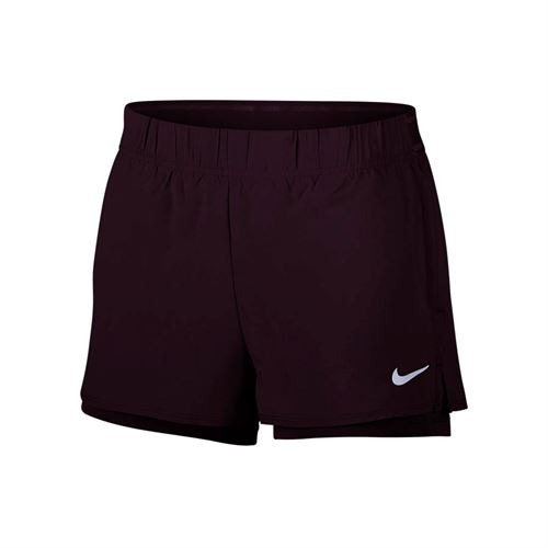 Nike Court Flex Shorts Marrone Donna 1
