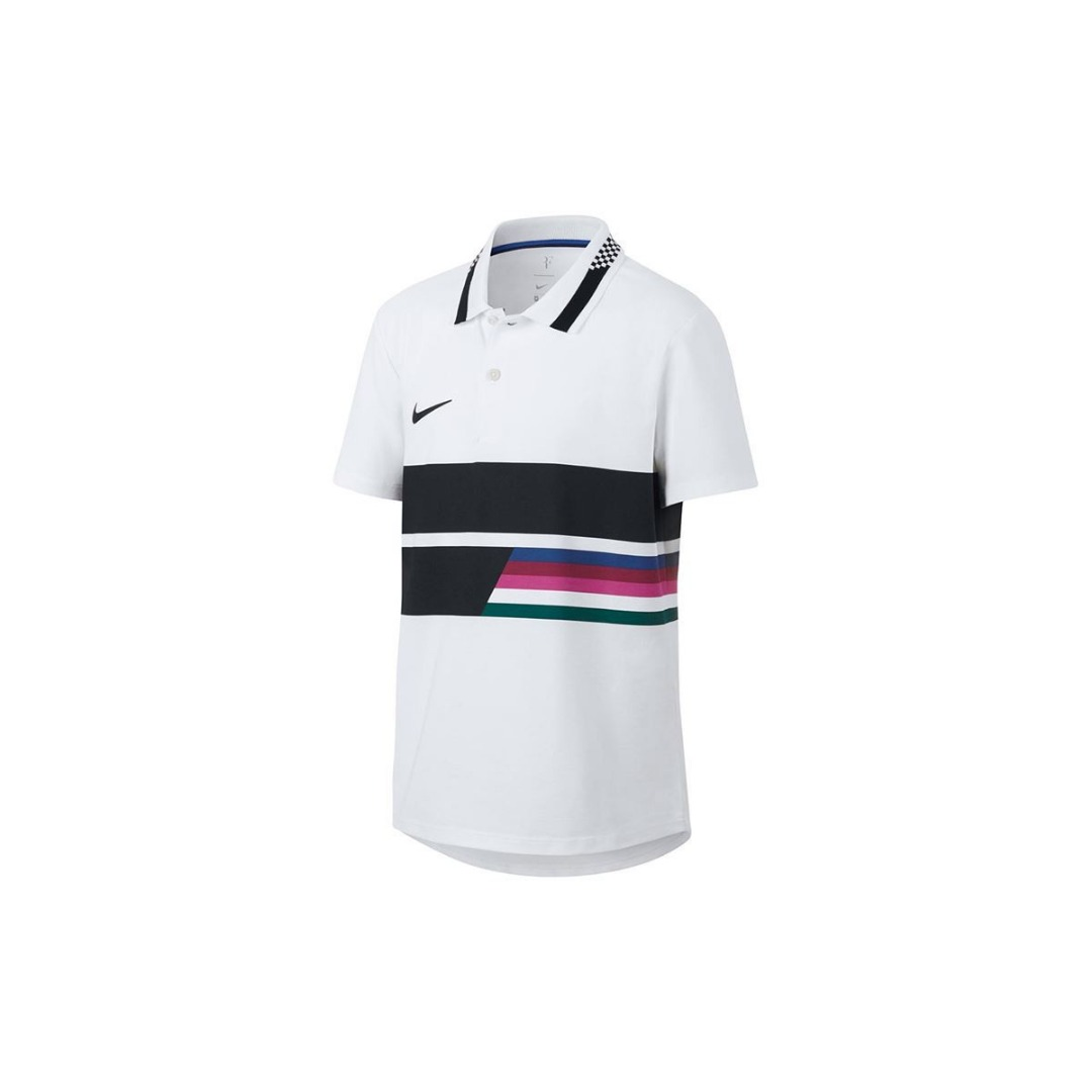 Nike Court Polo Bianco Bambino 1