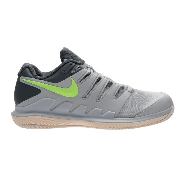 Nike Zoom Vapor x Cly Grigio-Lime Donna