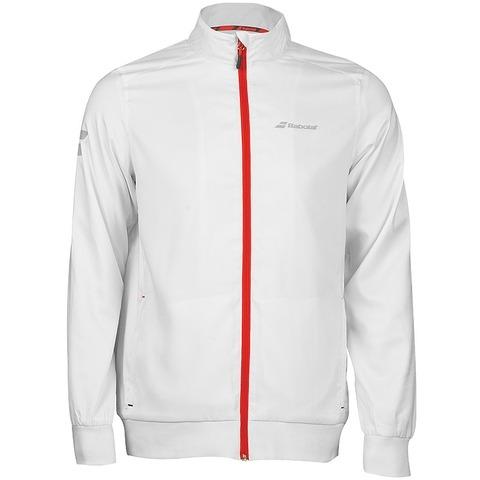 Babolat Core Club Jacket Bianco Bambino