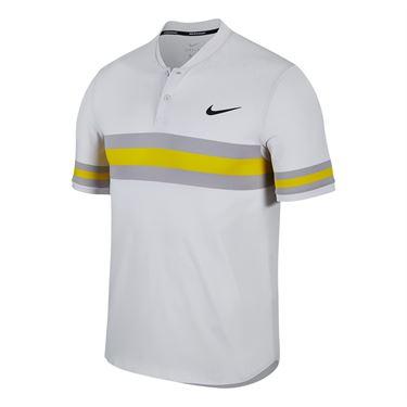 Nike Spring Advantage Chest Stripe Polo Grigio Uomo 1
