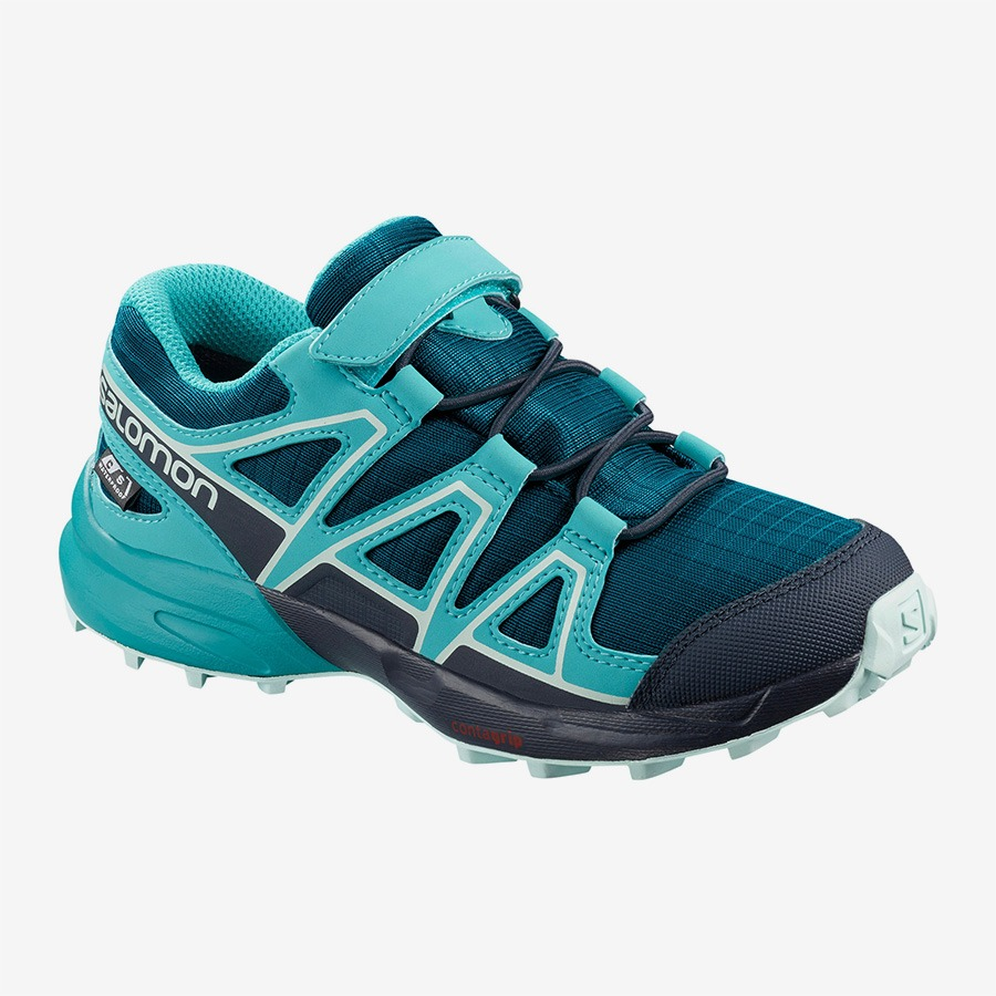 Salomon Speedcross CSWP Blu Junior