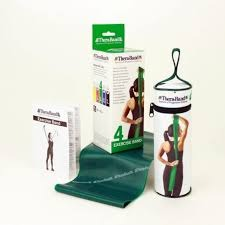 TheraBand Fascia per Esercizi Verde 4