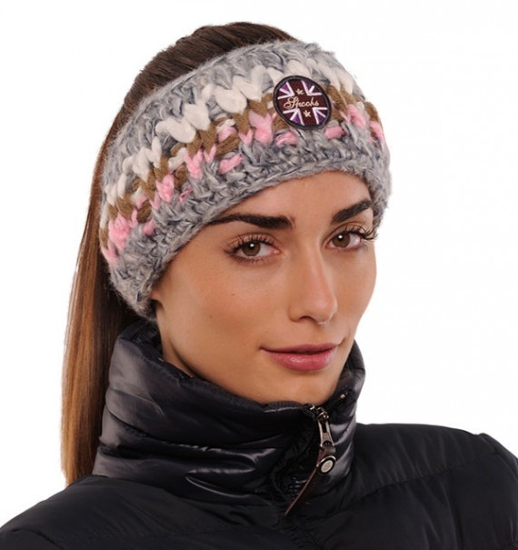 Spooks Headband Rosa/Grey