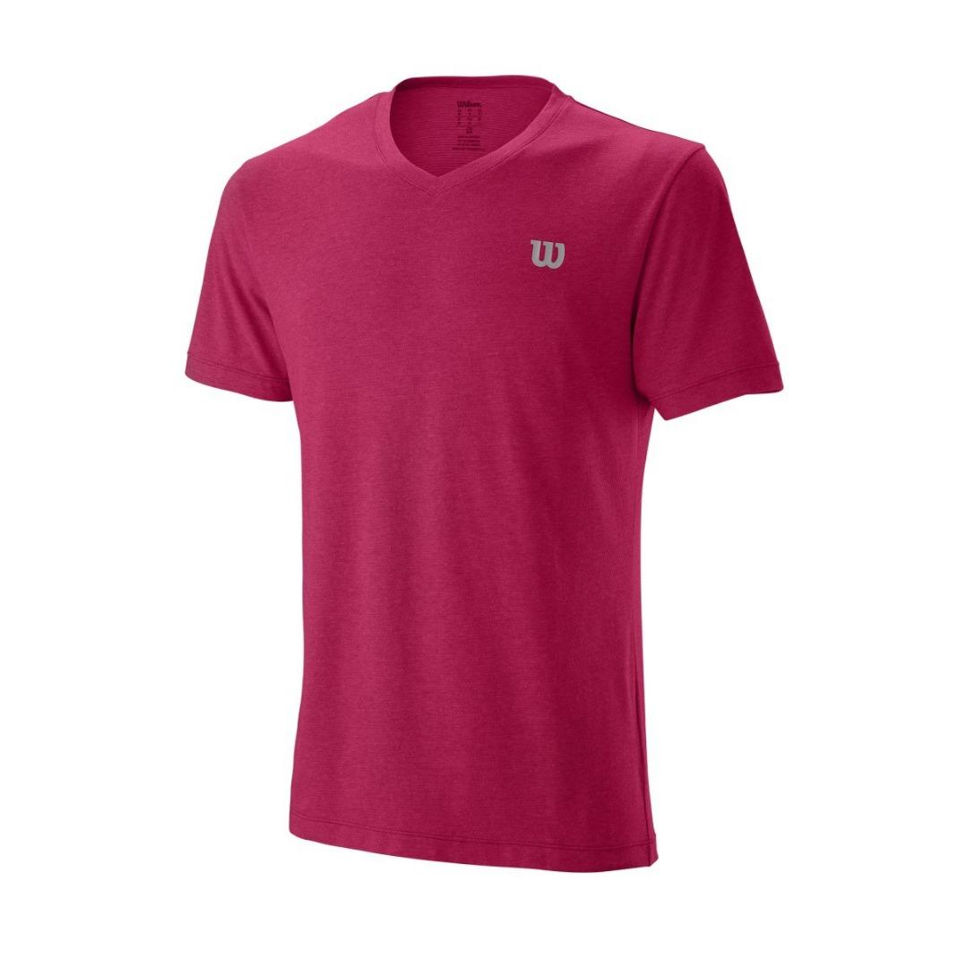 Wilson Training T-Shirt V-Neck Granita Uomo 1