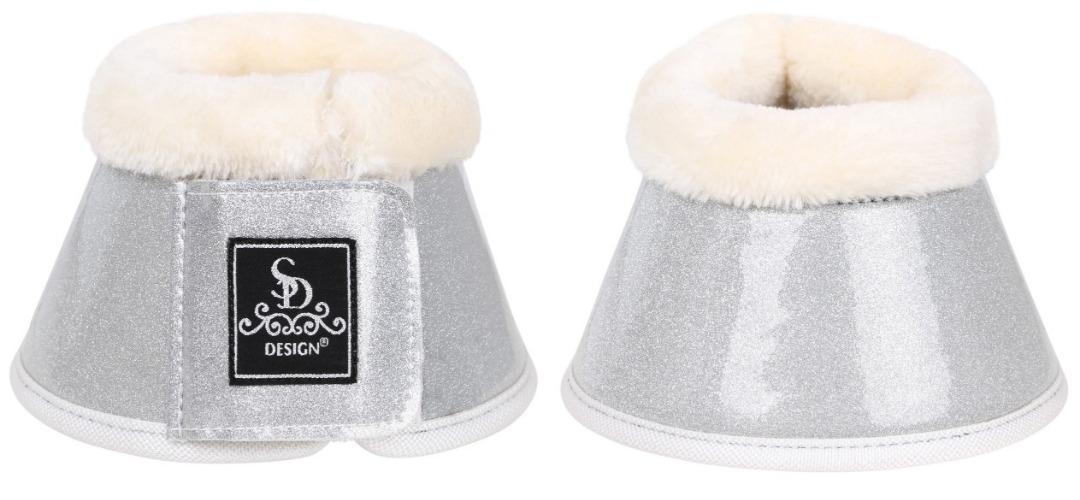 Design Boots Sparkle Bell Glitter Silver 1