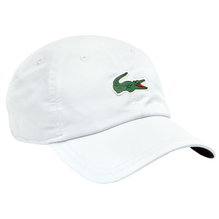 Lacoste Cappellino Bianco Dj 1