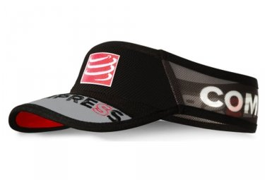 Compressport Visiera Nero