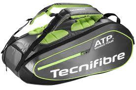 Tecnifibre Tour Ergonomy Bag Nero-Verde 9x