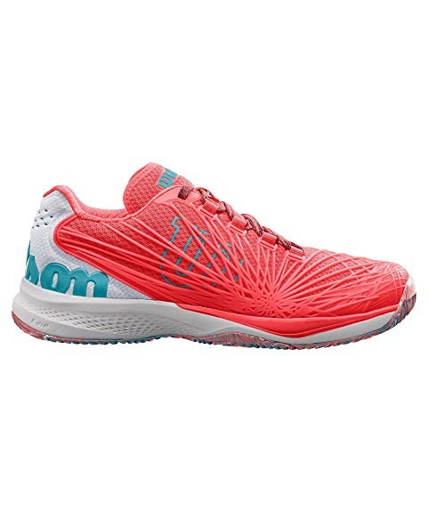 Wilson Kaos 2.0 Clay Court Corallo-Bianco Donna 1