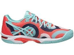 Asics Gel-Solution Speed 3 AC Radial-Acqua-Pink Donna