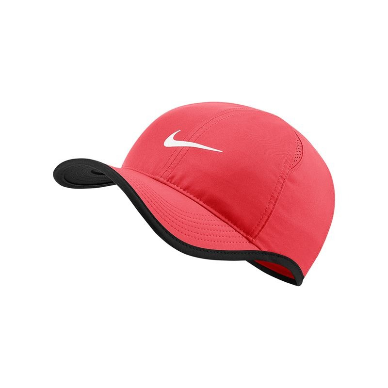 Nike Cappellino Spring Fall Featherlight Salmone