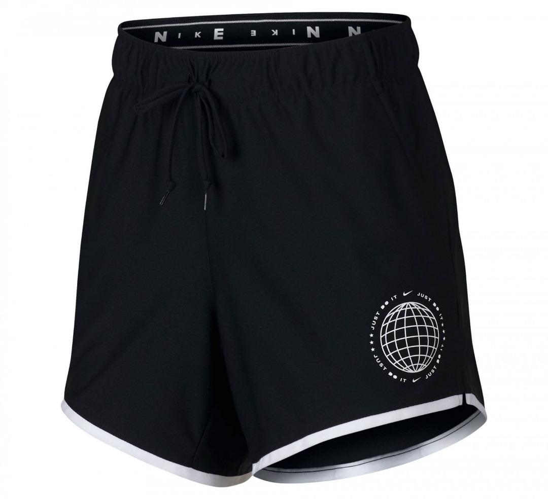 Nike Summer Dry Short Black-White Donna 1