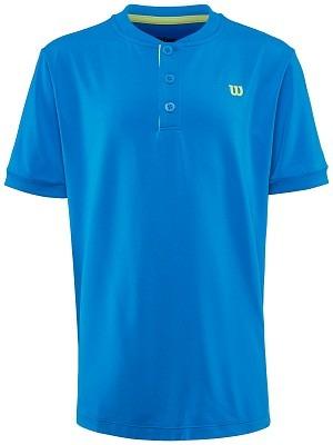 Wilson UWII Henley T-Shirt Azzurro Bambino