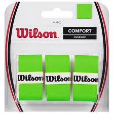 Wilson Pro Overgrip Verde (3x)