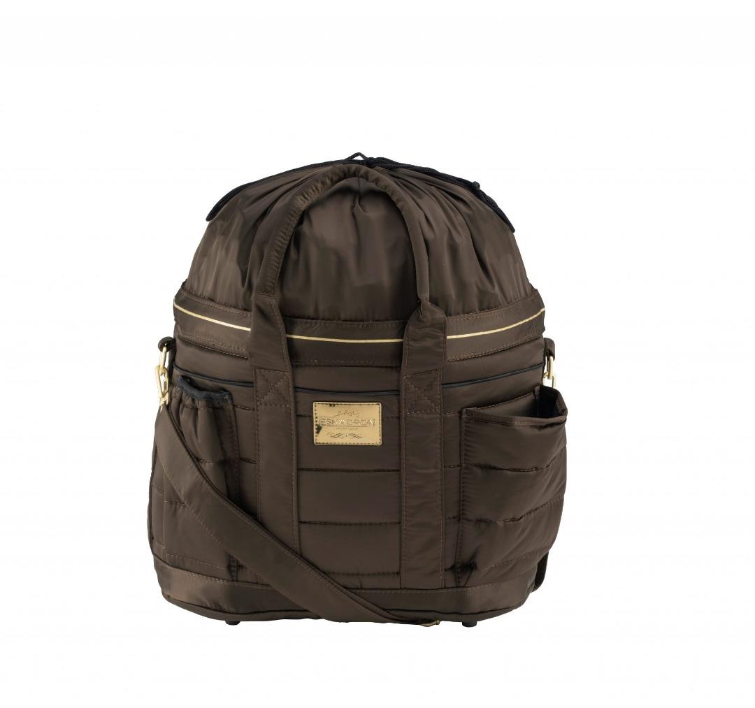 Eskadron Heritage Glossy Accessories Bag Dunkel Braun 1
