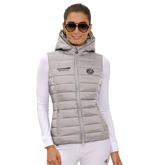 Spooks Lilly Vest Grey Donna 1