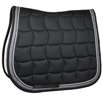 Esperado Deluxe Saddle Pad Nero-grigio