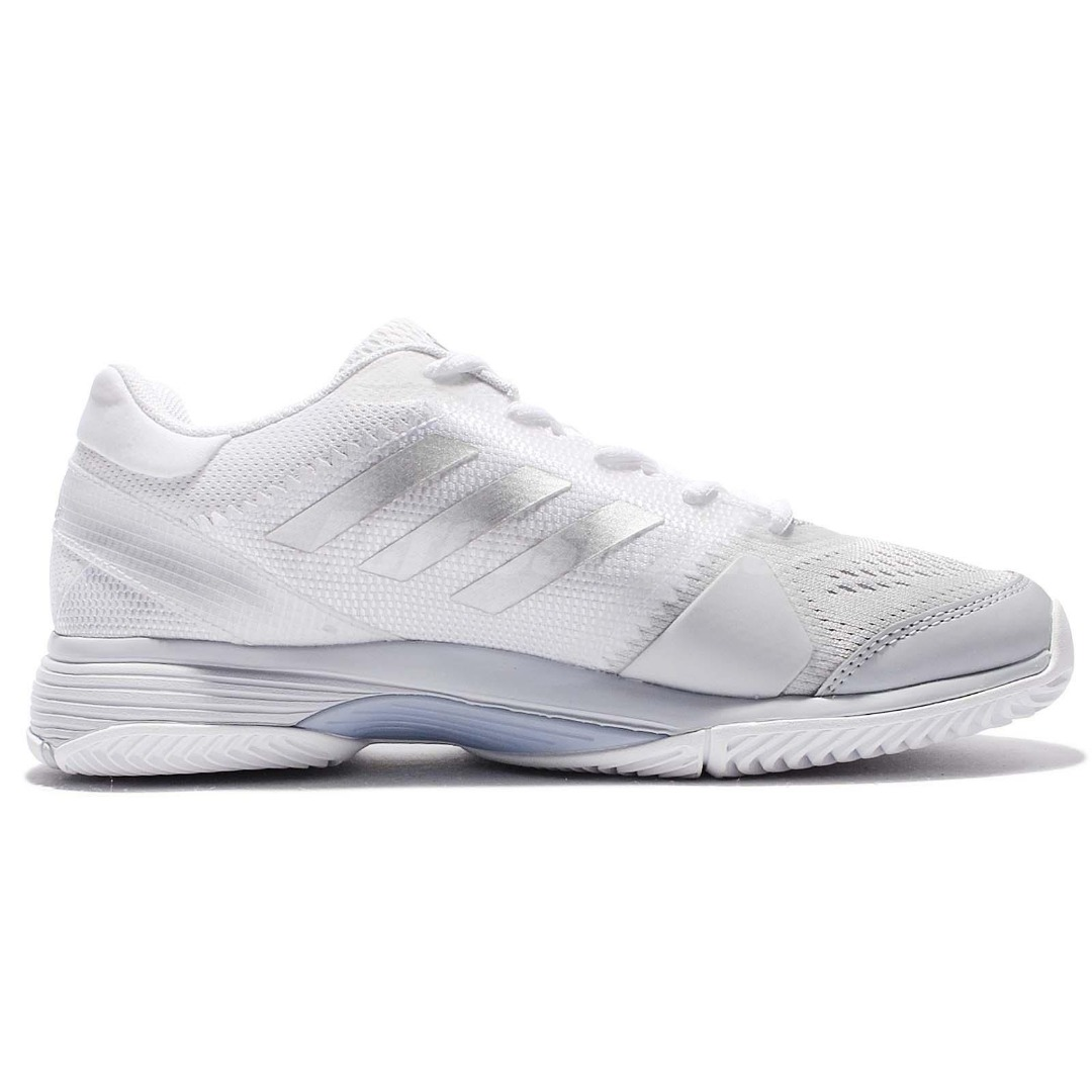 Adidas Barricade Club Bianco Donna 1