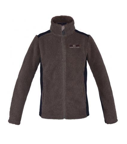 Kingsland Quincy Shepard Fleece Jacket Beige