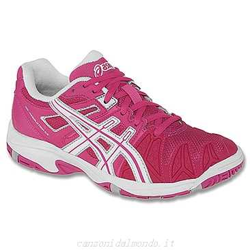 Asics Gel-Resolution 5 Pink Junior