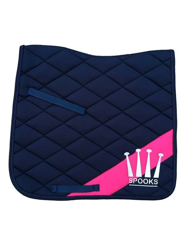 Spooks Dressage Pad Diagonal Navy-Ultramarine 1