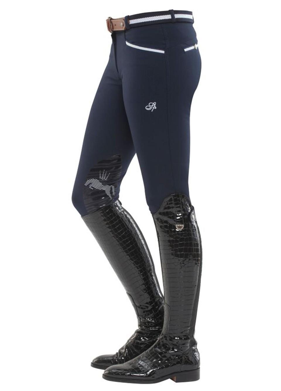 Spooks Ricarda Knee Grip Sequin Navy Donna