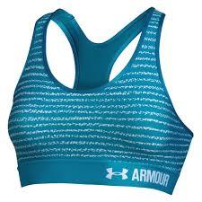 Under Armour Reggiseno Sportivo Blu Donna