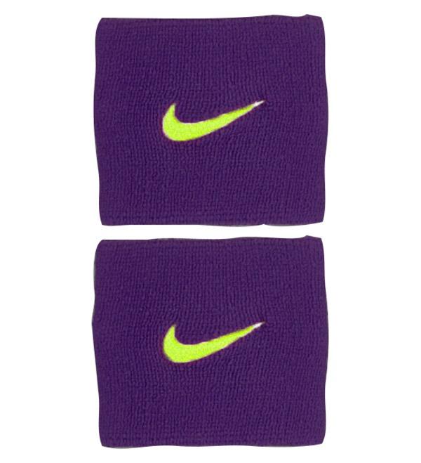 Nike Polsini Viola Logo Giallo (2x)