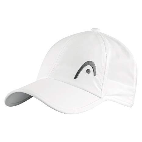 Head Cap Pro Player Bianco/Grigio