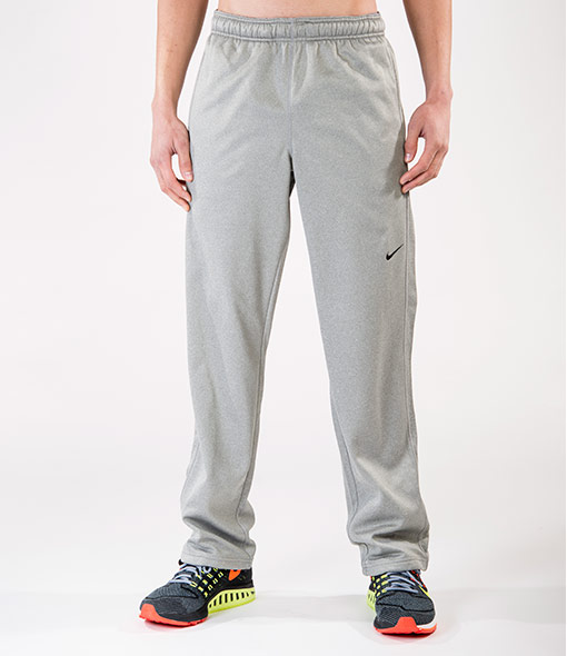Nike Polyester Fleece Training Grigio Uomo