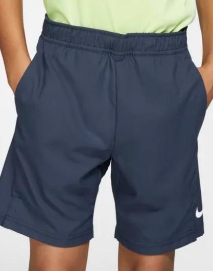 Nike Fri-Fit court Short Navy Bambino 1