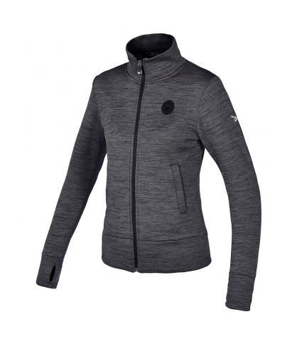 Kingsland Kaktovik Fleece Jacket Charcoal Melagne Donna