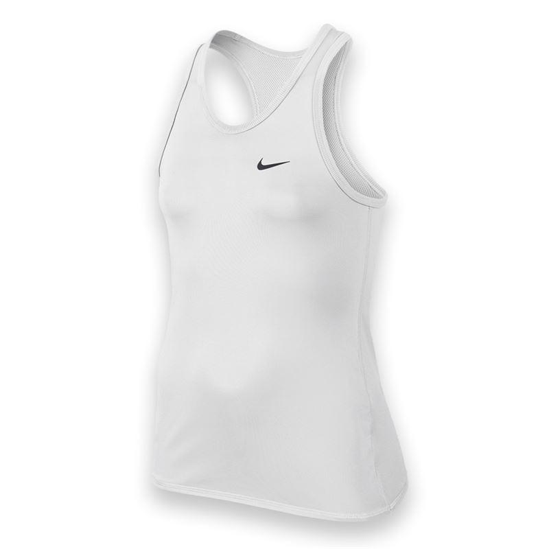Nike Advantage Power Tank Bianco Bambina