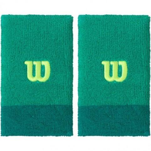 Wilson Extra Wide Polsini Verde (2x) 1
