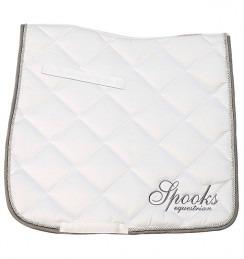 Spooks Saddle Pad Fineline Dressage bianco 1