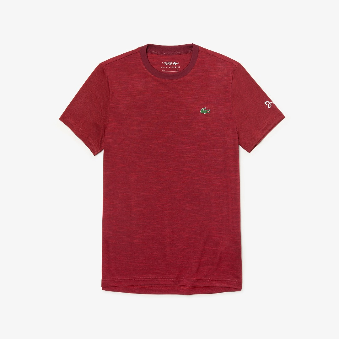 Lacoste Tee-Shirt Rosso 1