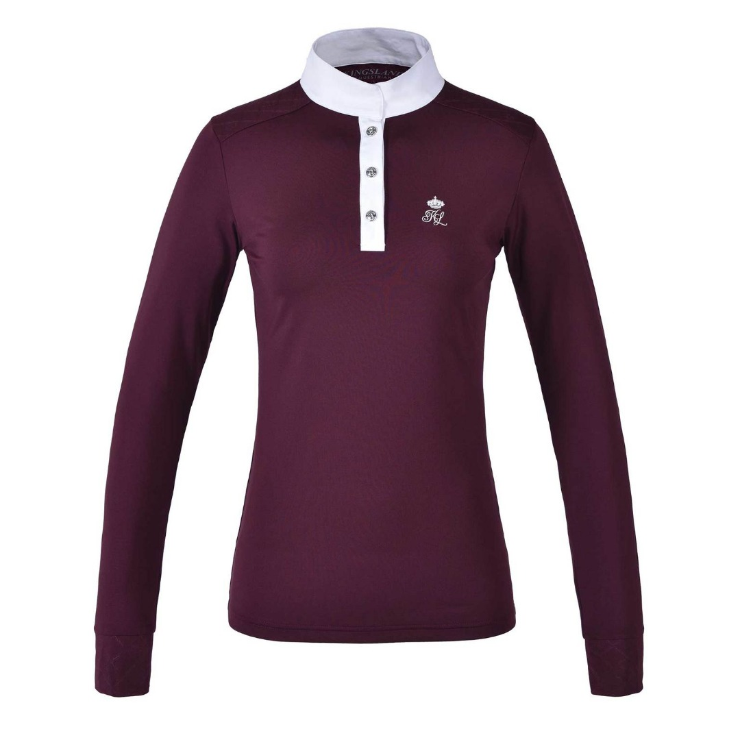 Kingsland Kltimmins LS Show Shirt Bordeaux Donna 1