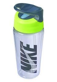 Nike Borraccia Hypercharge Straw Trasparente-Giallo 1