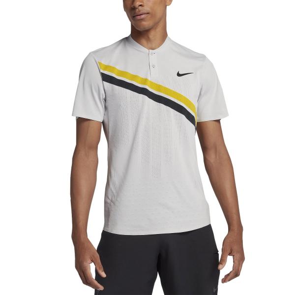 Nike RF Zonal Advantage Hanley Polo Bianco-Giallo Uomo 1