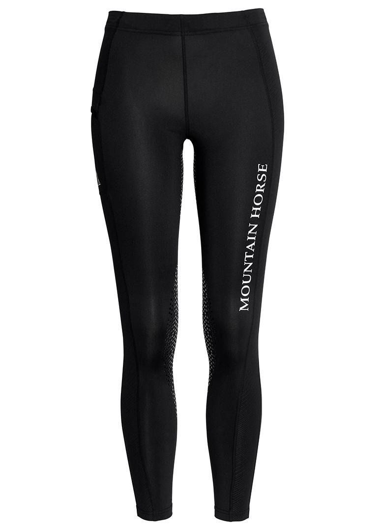 Rilewa Mountain Horse Sienna Tech Tights JR Nero
