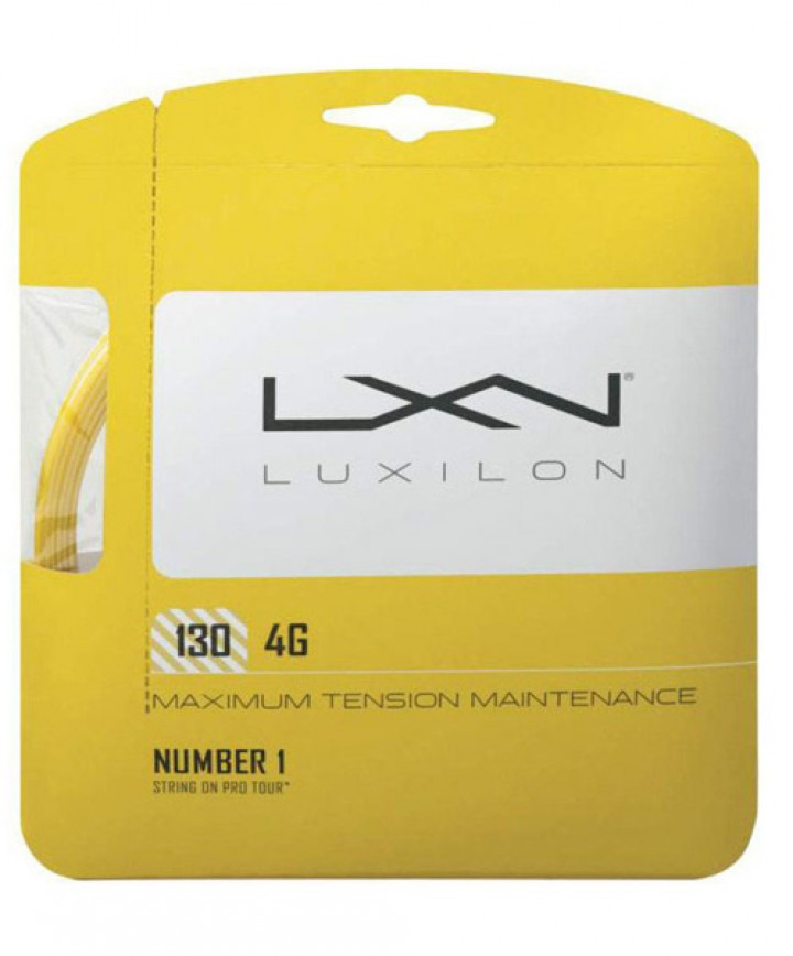Luxilon 4G Giallo 1.30 mm 12 m 1